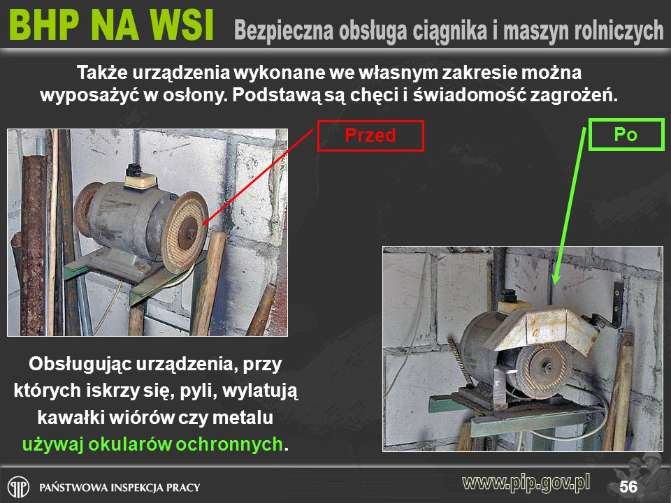 Także urządzenia wykonane we własnym zakresie można wyposażyć w osłony