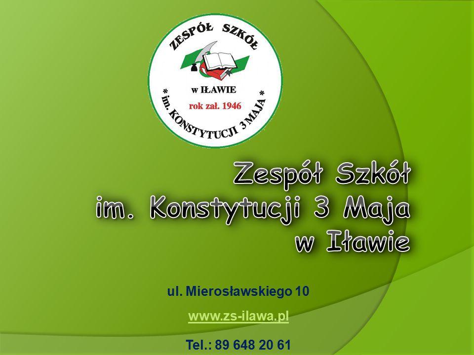 Zespół Szkół im. Konstytucji 3 Maja w Iławie
