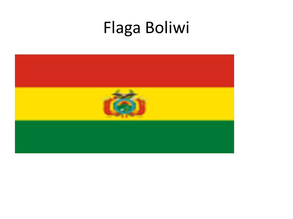 Flaga Boliwi