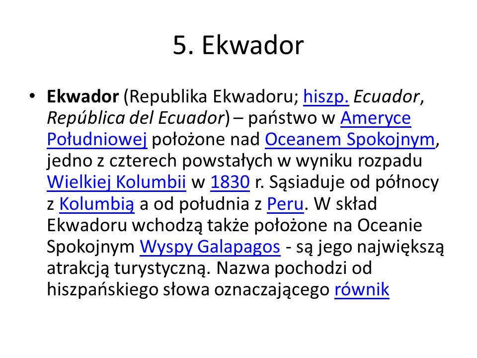 5. Ekwador