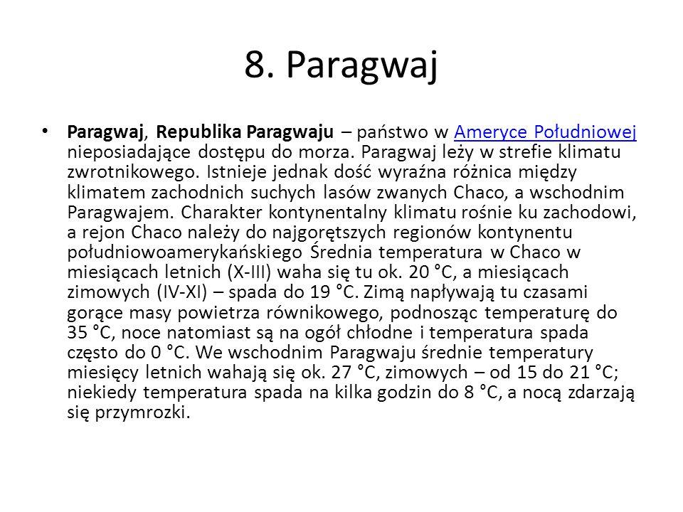 8. Paragwaj