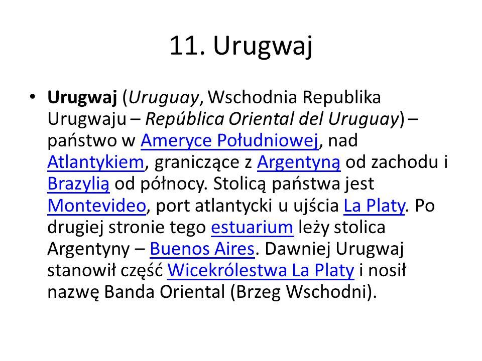 11. Urugwaj