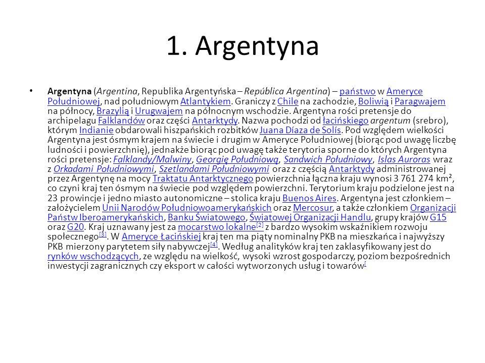 1. Argentyna