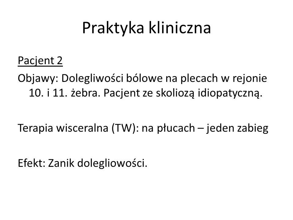 Praktyka kliniczna Pacjent 2
