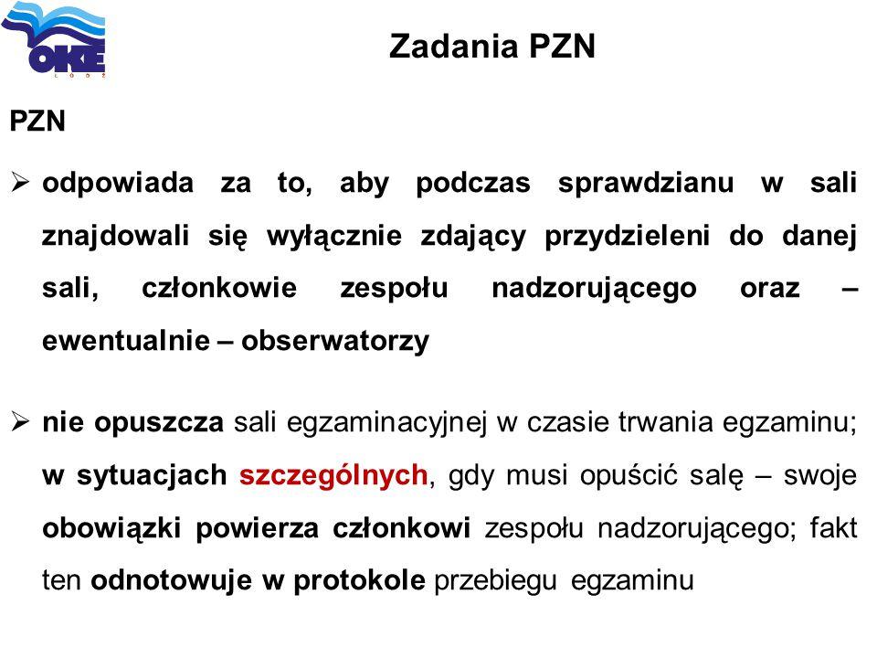 Zadania PZN PZN.