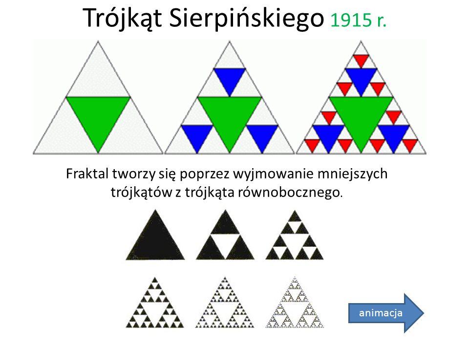 Trójkąt Sierpińskiego 1915 r.