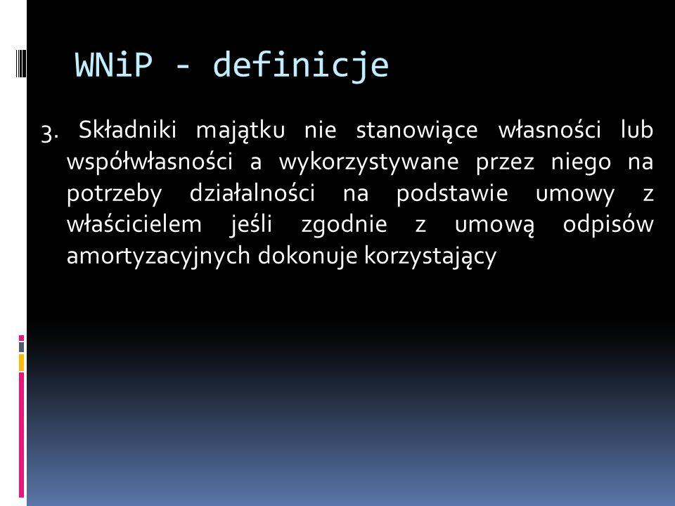 WNiP - definicje