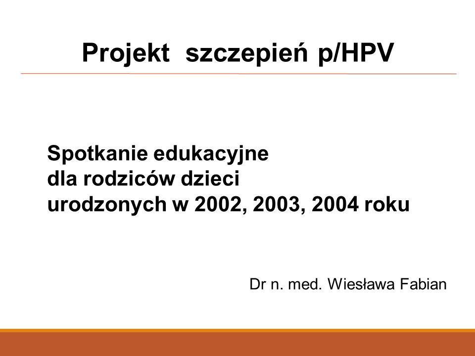 Projekt szczepień p/HPV