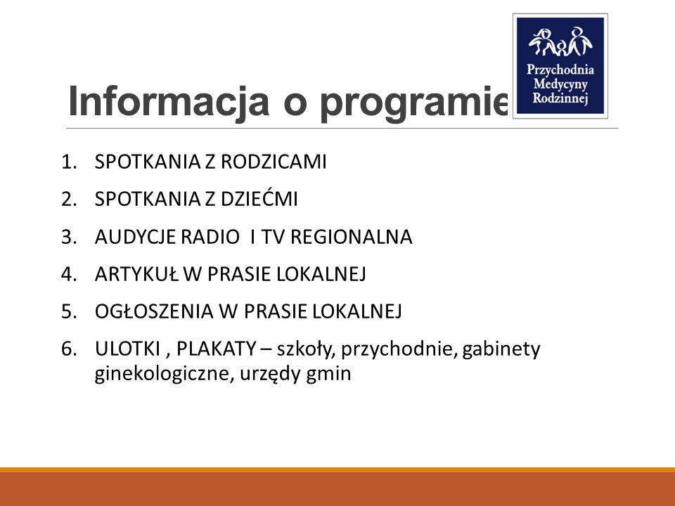 Informacja o programie