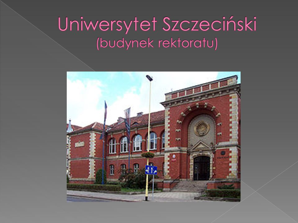 Uniwersytet Szczeciński (budynek rektoratu)