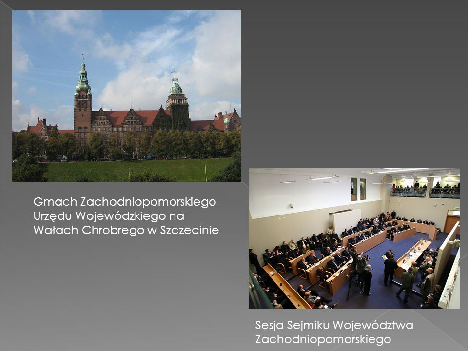 Gmach Zachodniopomorskiego Urzędu Wojewódzkiego na Wałach Chrobrego w Szczecinie