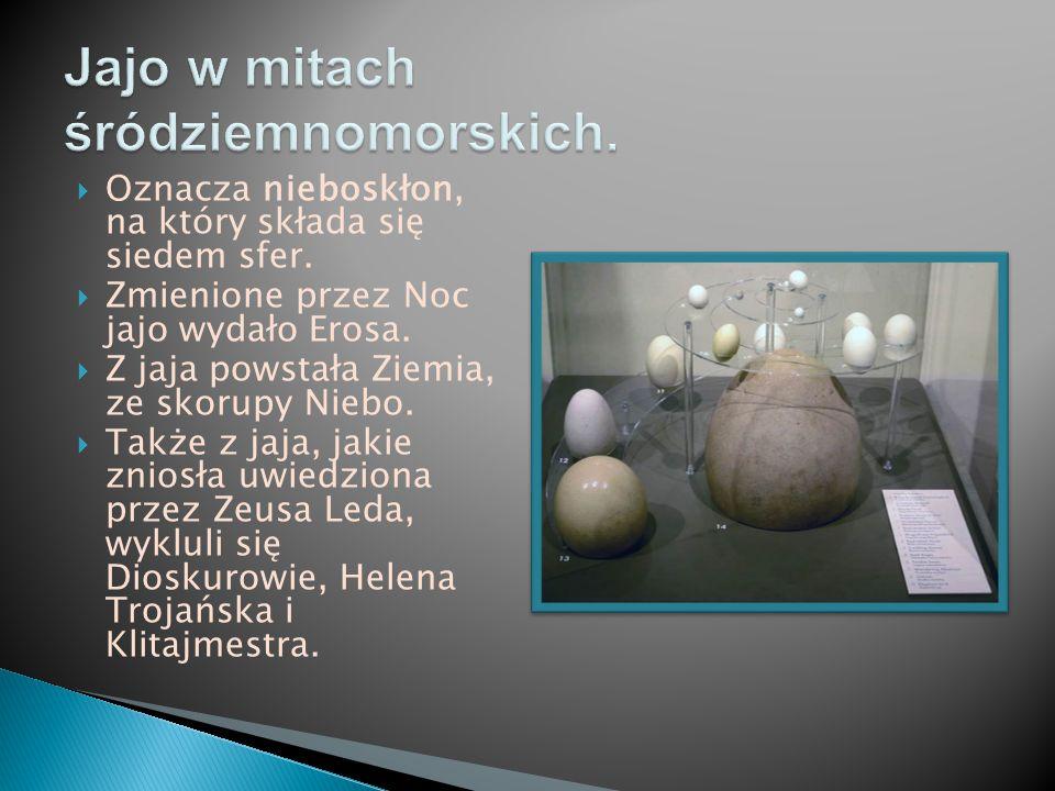 Jajo w mitach śródziemnomorskich.