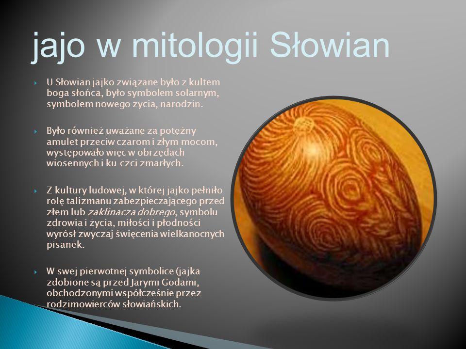 jajo w mitologii Słowian
