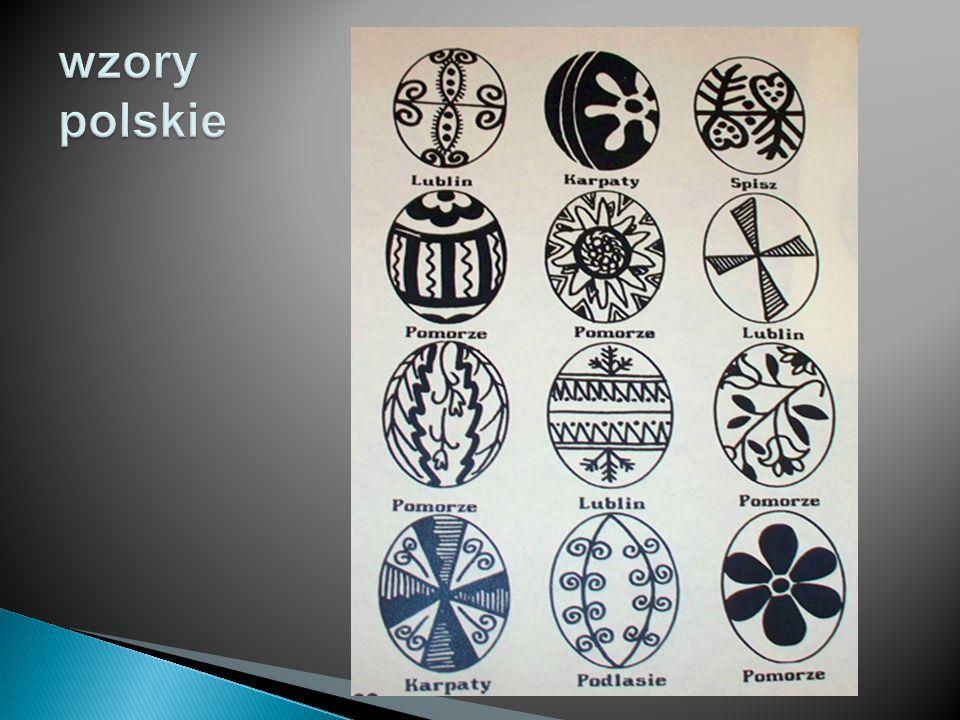 wzory polskie