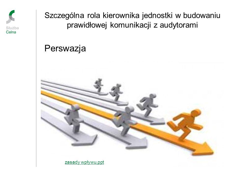 Szczególna rola kierownika jednostki w budowaniu prawidłowej komunikacji z audytorami