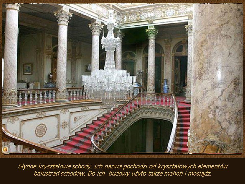Słynne kryształowe schody