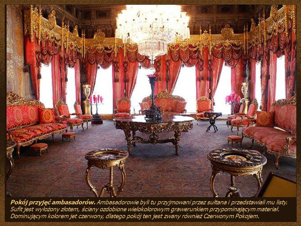 Pokój przyjęć ambasadorów