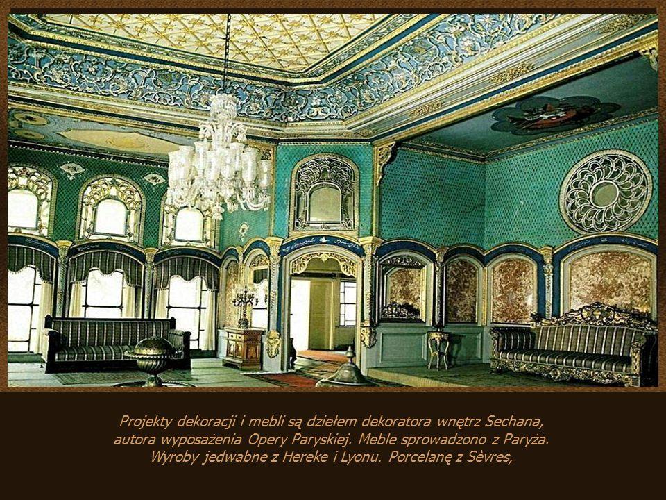 Projekty dekoracji i mebli są dziełem dekoratora wnętrz Sechana,