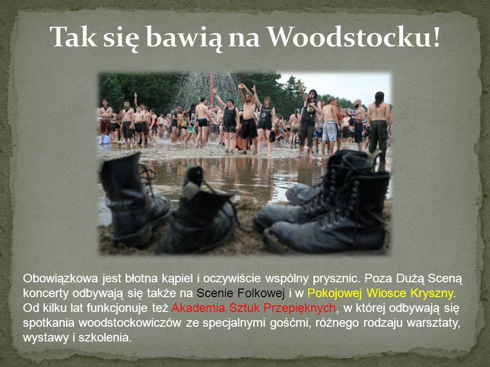 Tak się bawią na Woodstocku!