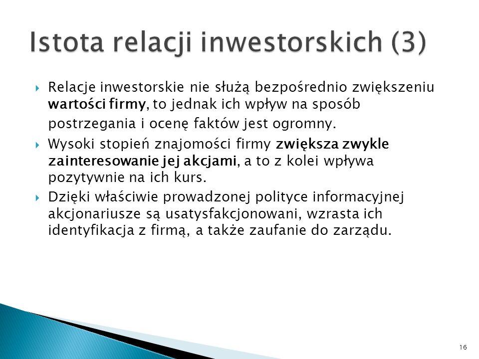 Istota relacji inwestorskich (3)