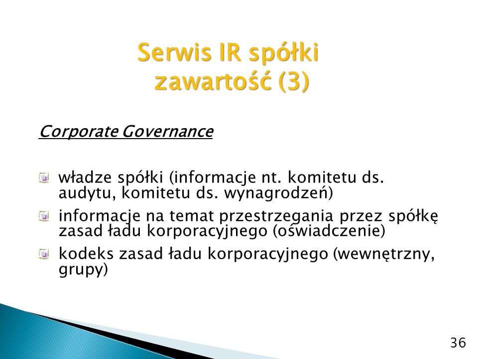 Serwis IR spółki zawartość (3)