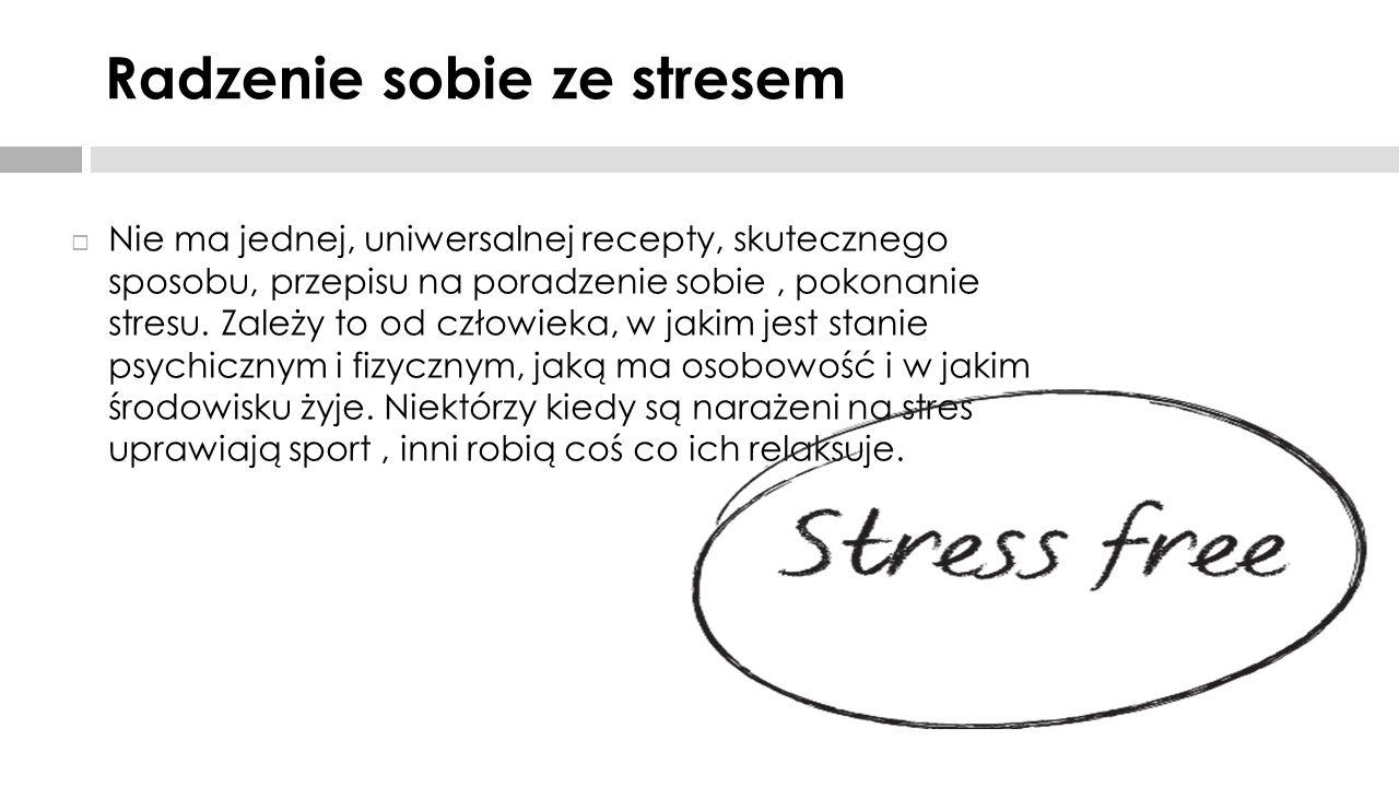 Radzenie sobie ze stresem