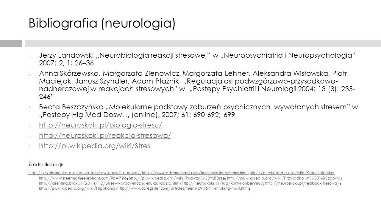 Bibliografia (neurologia)