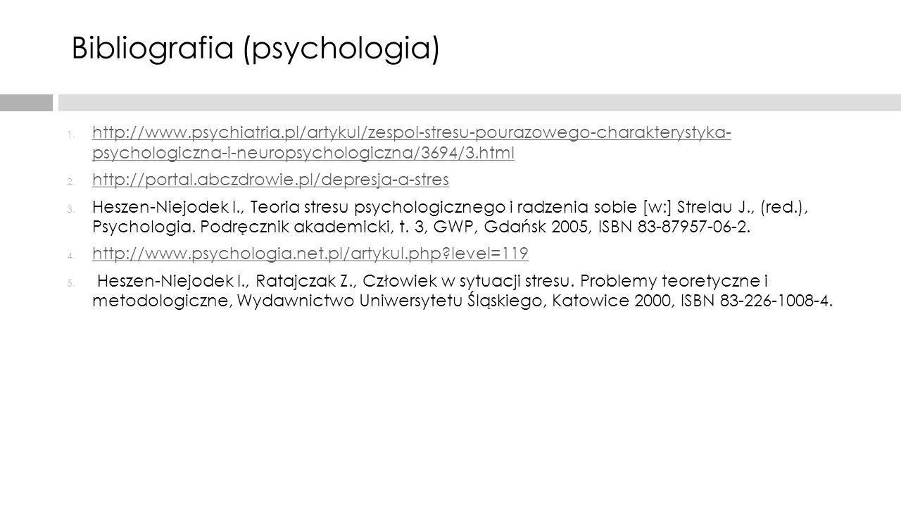 Bibliografia (psychologia)