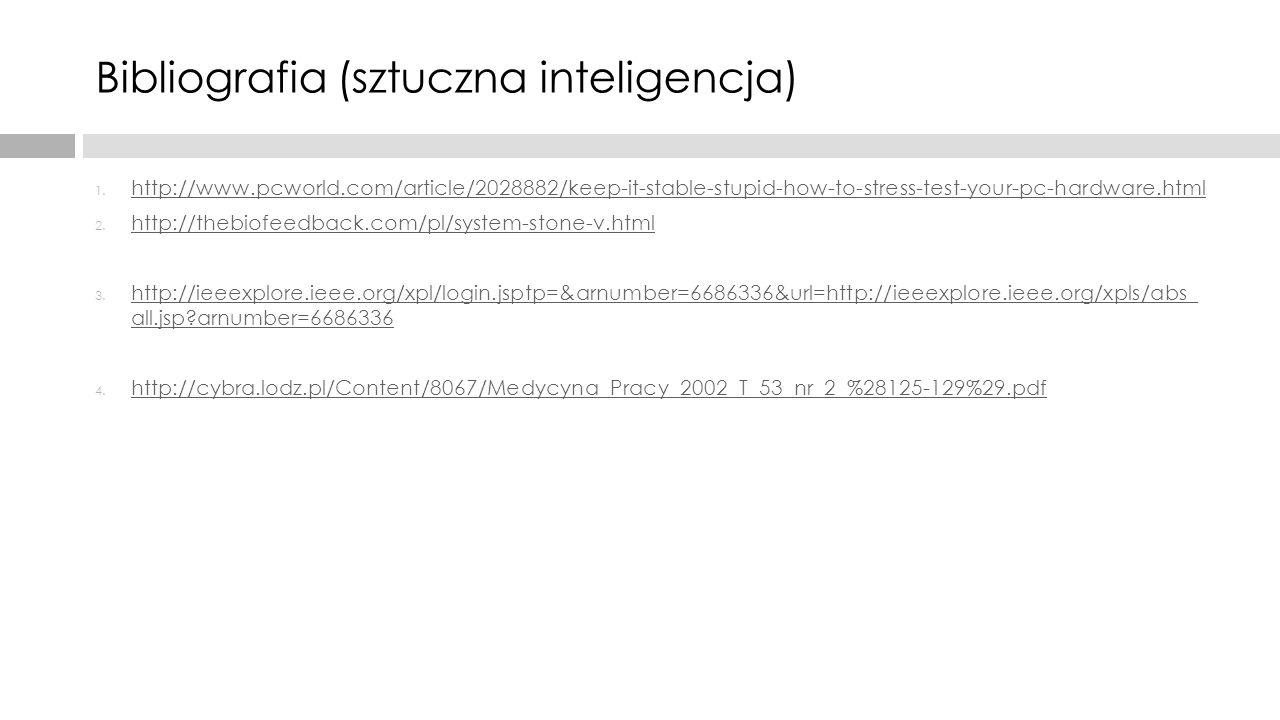 Bibliografia (sztuczna inteligencja)