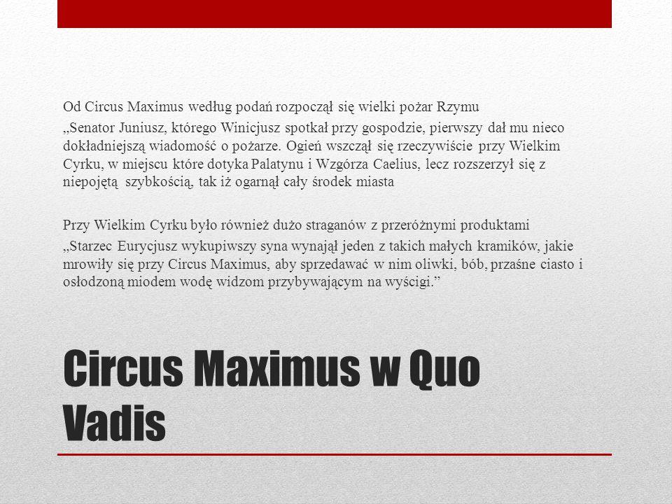 Circus Maximus w Quo Vadis