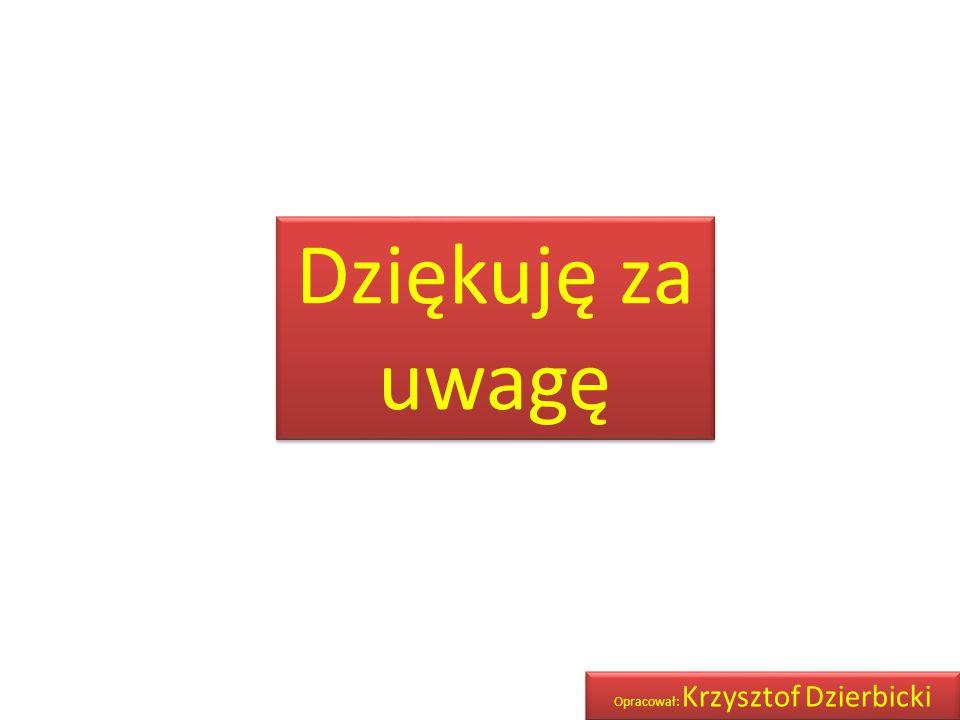Opracował: Krzysztof Dzierbicki