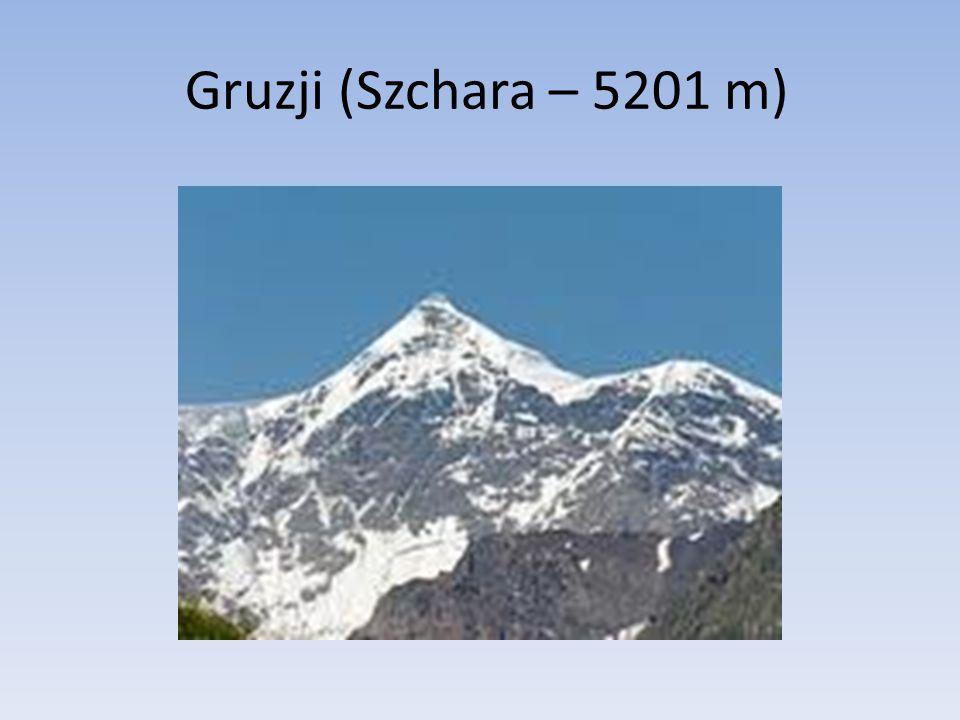Gruzji (Szchara – 5201 m)