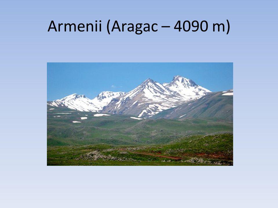 Armenii (Aragac – 4090 m)