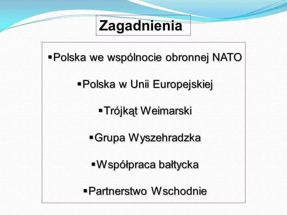 Zagadnienia Polska we wspólnocie obronnej NATO