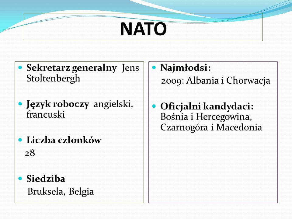 NATO Sekretarz generalny Jens Stoltenbergh