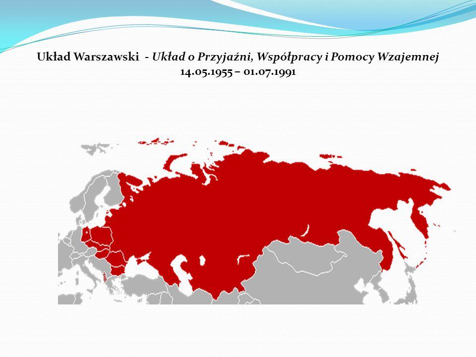 Układ Warszawski - Układ o Przyjaźni, Współpracy i Pomocy Wzajemnej