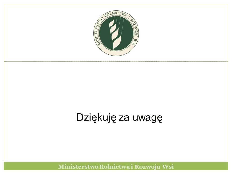 Ministerstwo Rolnictwa i Rozwoju Wsi