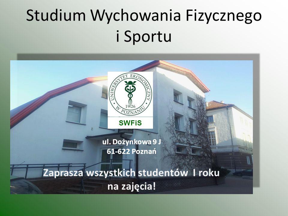Studium Wychowania Fizycznego i Sportu