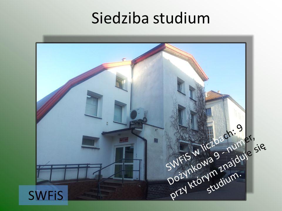 Siedziba studium SWFiS