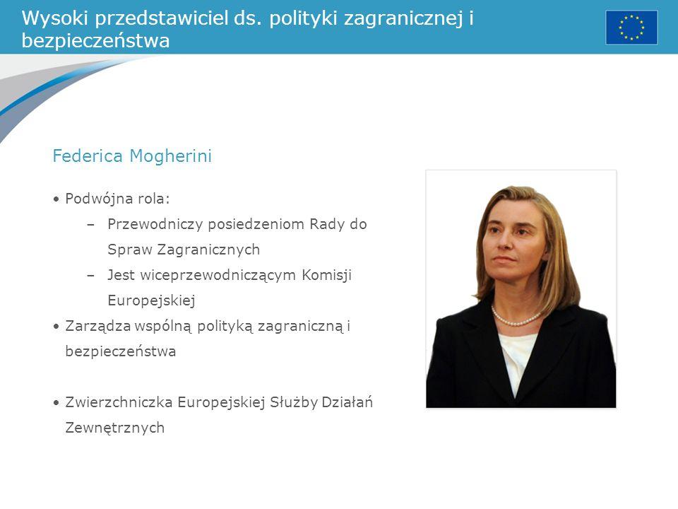Wysoki przedstawiciel ds. polityki zagranicznej i bezpieczeństwa