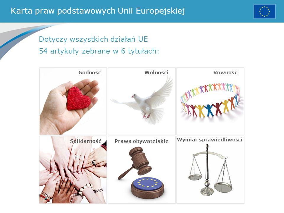 Karta praw podstawowych Unii Europejskiej