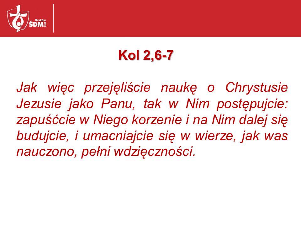 Kol 2,6-7