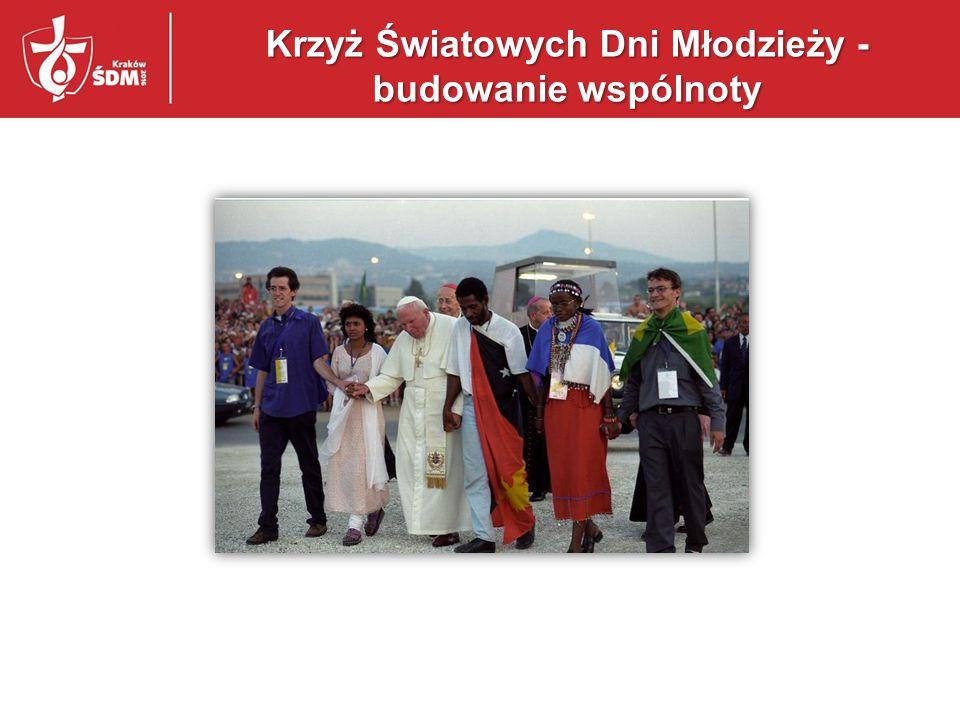Krzyż Światowych Dni Młodzieży - budowanie wspólnoty