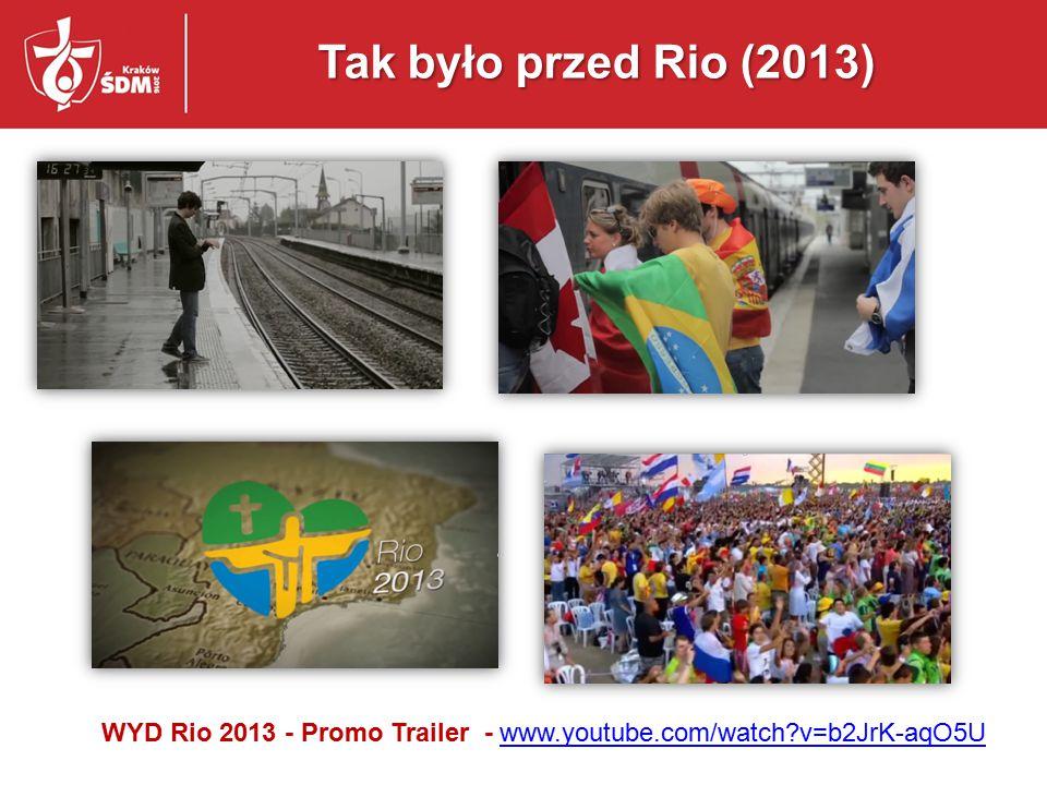 WYD Rio 2013 - Promo Trailer - www.youtube.com/watch v=b2JrK-aqO5U