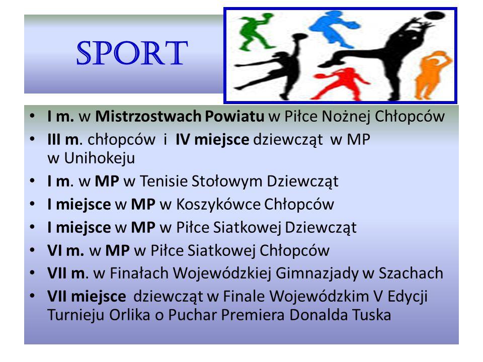 SPORT I m. w Mistrzostwach Powiatu w Piłce Nożnej Chłopców