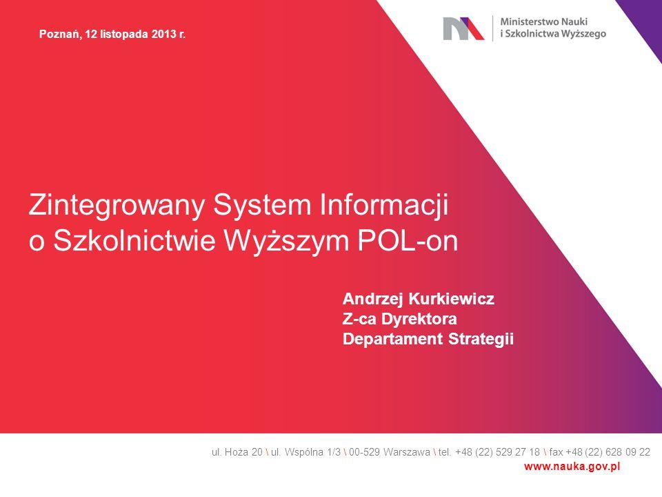 Zintegrowany System Informacji o Szkolnictwie Wyższym POL-on