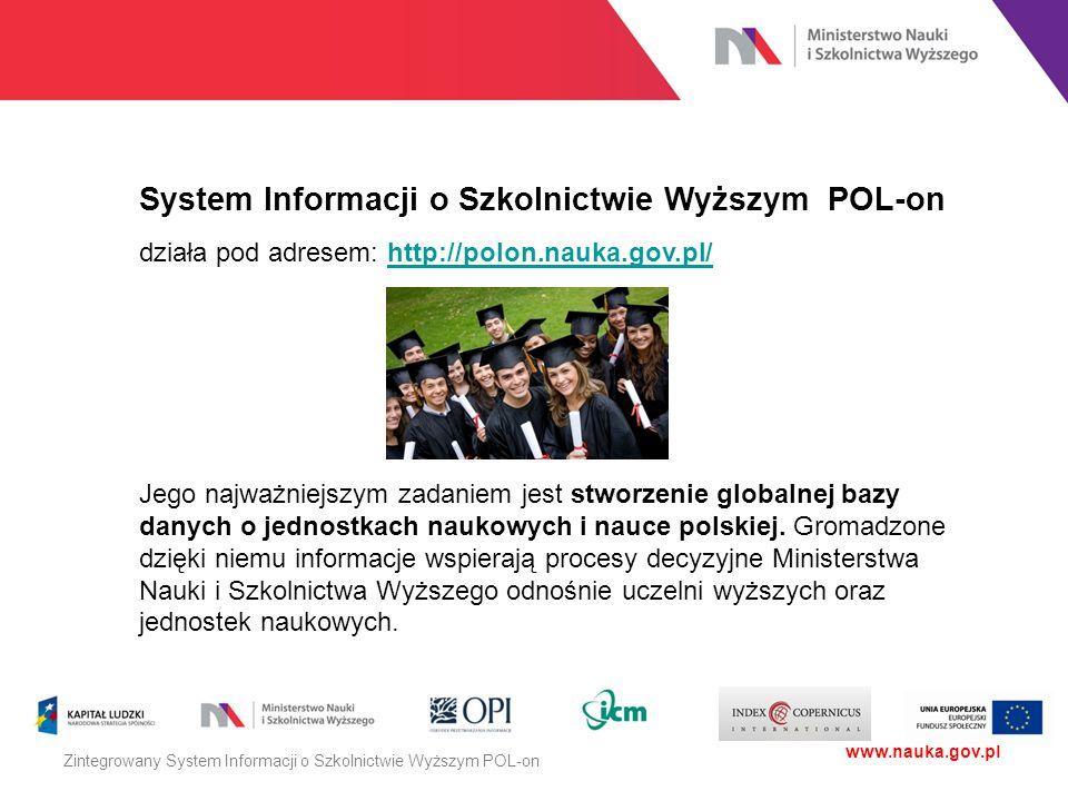 System Informacji o Szkolnictwie Wyższym POL-on