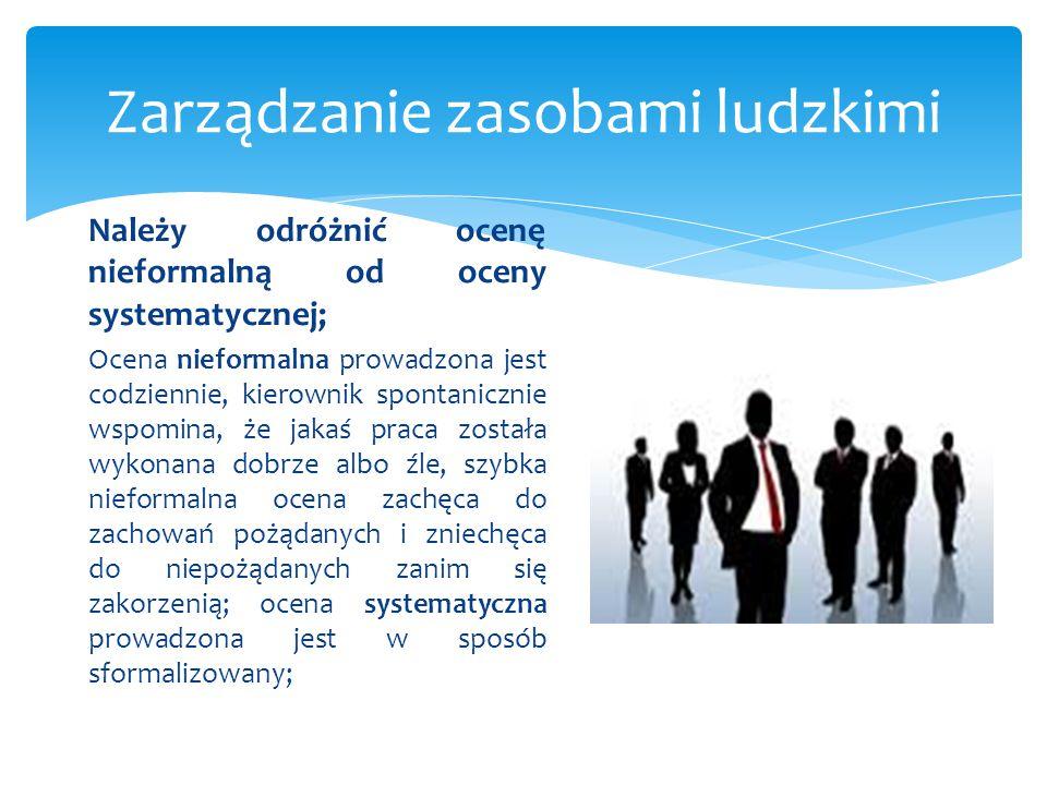 Zarządzanie zasobami ludzkimi