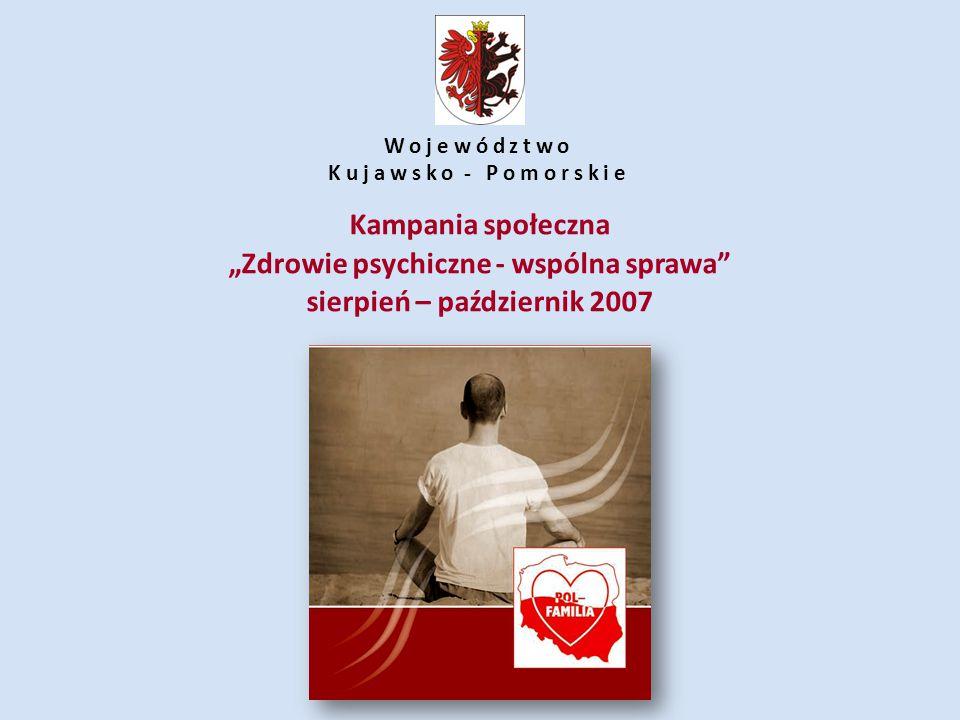 """""""Zdrowie psychiczne - wspólna sprawa sierpień – październik 2007"""