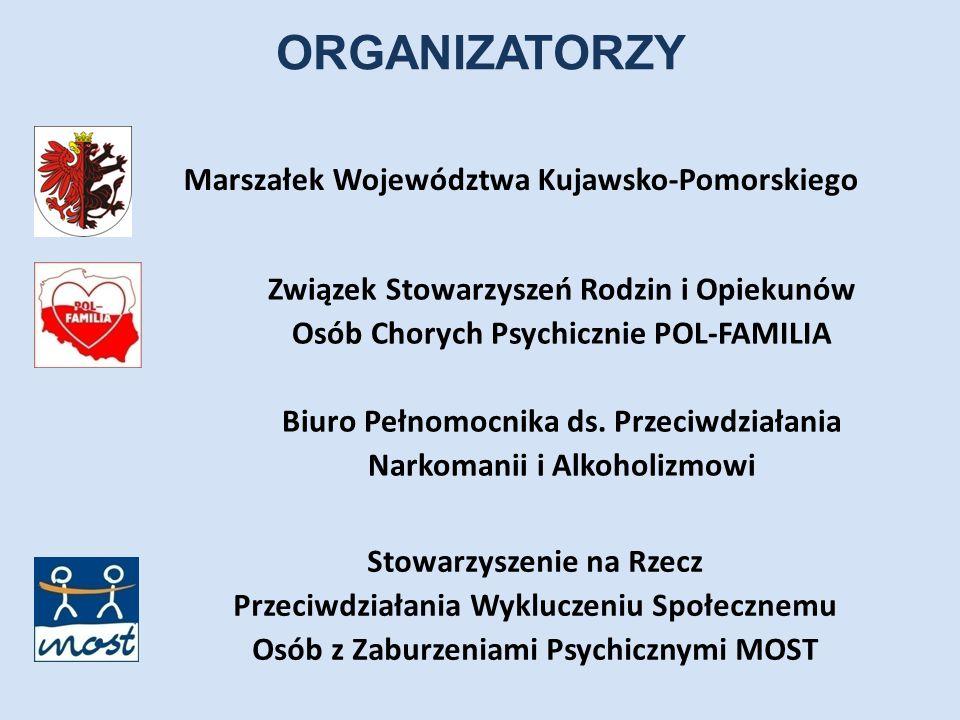 ORGANIZATORZY Marszałek Województwa Kujawsko-Pomorskiego